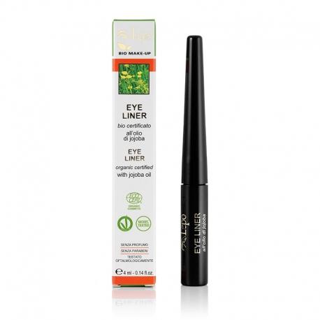 Eye.liner punta feltro con ingredienti naturali e biologici.