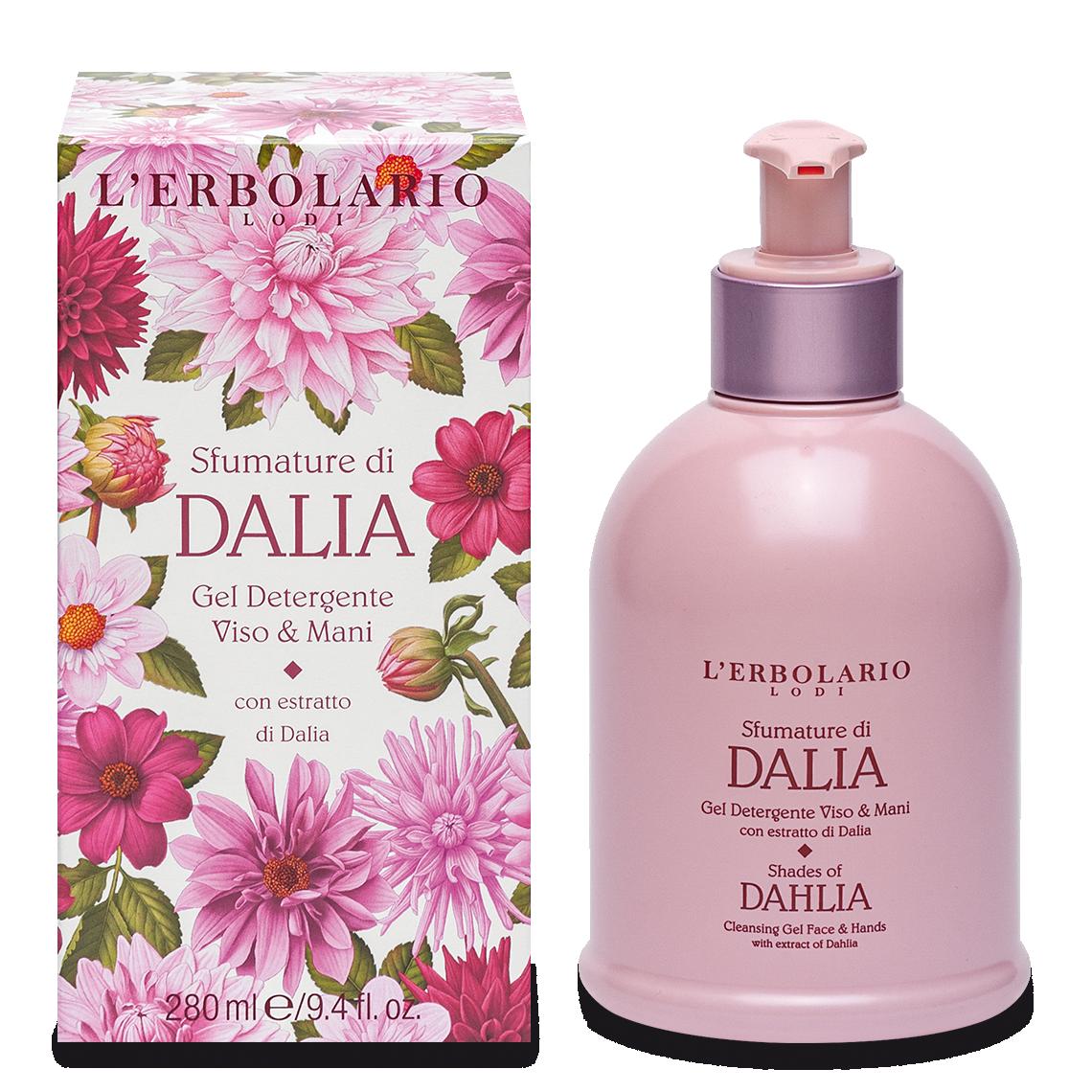 Gel detergente viso & mani Sfumature di Dalia
